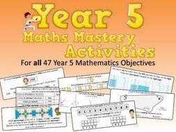 Maths Mastery Activities – Year 5