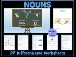 Nouns Worksheets