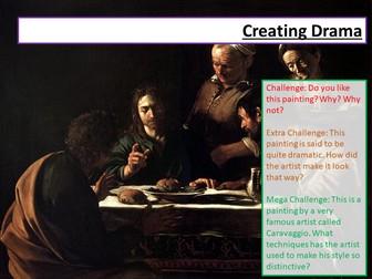 AQA Language Paper 1 Drama and Language