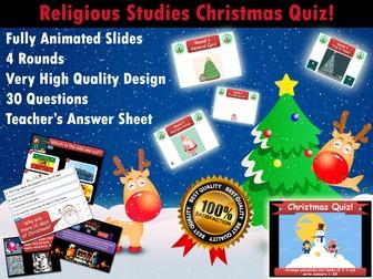 Religious Studies, Philosophy & Sociology Christmas Quiz Bundle