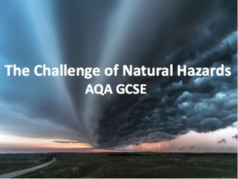 The Challenge of Natural Hazards