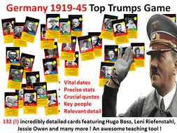 Weimar & Nazi Germany Card Game - 132 cards