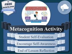 Metacognition Activity
