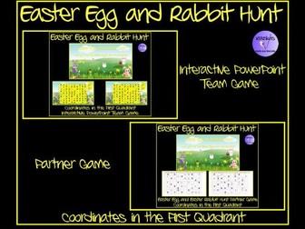 Easter Egg and Easter Rabbit Hunt Game