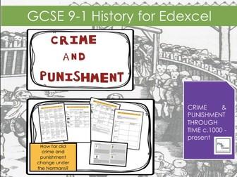 Edexcel GCSE Crime Punishment:  Lesson 4 How far did crime and punishment change under the Normans?