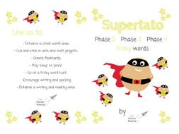 Supertato Tricky Words/Sight Words (Phase 2, Phase 3 and Phase 4)