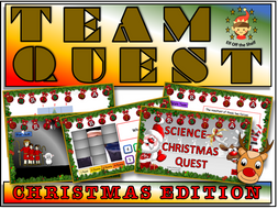 Christmas Team Quest - Science Quiz KS3