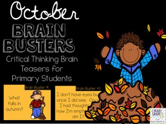 October Brain Busters