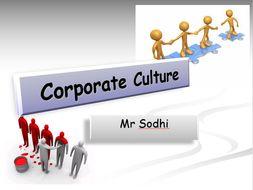 Corporate Culture A2