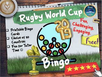 Rugby World Cup Bingo