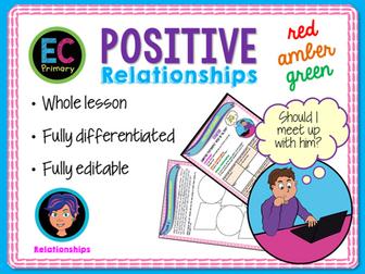 Positive Relationships PSHE