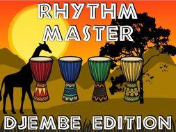 Rhythm Master - Djembe Edition