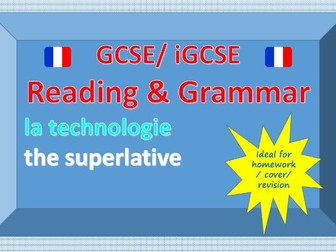 Reading and Grammar - La technologie - the superlative