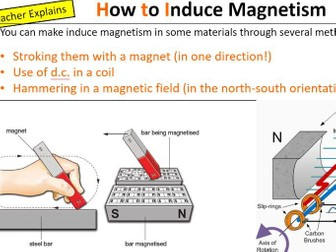 Magnets and Magnetic Fields - Bumper lesson pack
