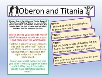 A Midsummer Night's Dream - Titania and Oberon