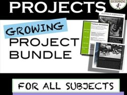 Project Bundle for Student Choice in Any Subject