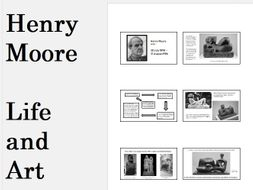 Henry Moore - Life and Art - Presentation