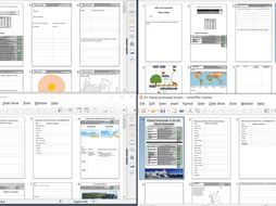GCSE Paper 1 booklets