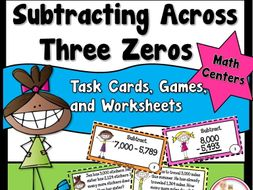 Subtracting Across Three Zeros