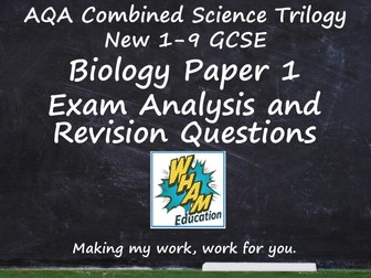 AQA Combined Science Trilogy Biology Paper 1 Revision and 2019 Exam Support