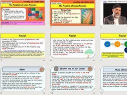 GCSE Religious Studies - RISALAH / PROPHETS OF ISLAM (Islamic beliefs)