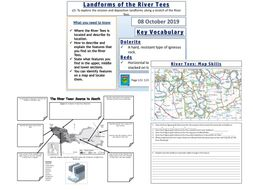 Landforms of the River Tees: AQA GCSE Geography