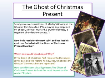 A Christmas Carol - The Ghost of Christmas Present