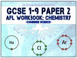 GCSE Combined Science 1-9 - Chemistry Paper 2 AfL Workbook