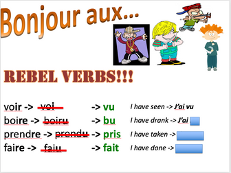 Past tense irregular verbs (film) - Expo 3 Module 1 - Differentiated lesson and homework task
