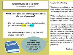 Goodnight Mr Tom Characters