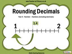 Rounding Decimals - Year 4