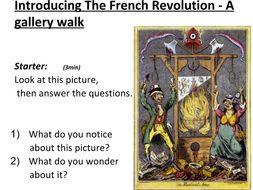 French Revolution Gallery Walk