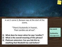 Macbeth Soliloquy Act 2 Scene 1 I Thi A Dagger See Before Me Teaching Resources Paraphrase