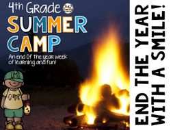 End of The Year Activities - 4th Grade