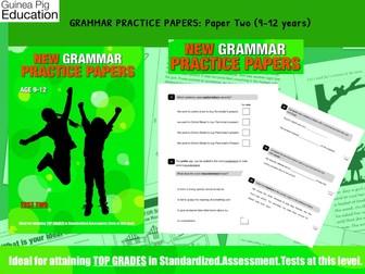 Practise SATS SPAG Grammar Tests (Pack 2) 9-12 years