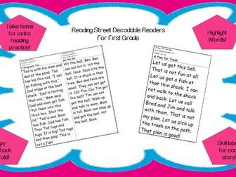 Decodable Reader - The Stone Garden (Prefixes -un -re; Long o; Long i)