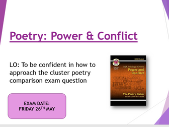 AQA Power and Conflict comparison carousel
