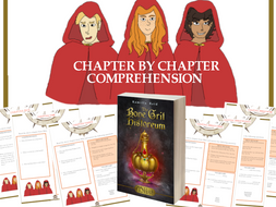 Extensive Chapter by Chapter Comprehension for the middle grade novel, Miist