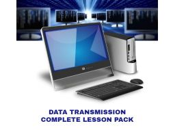 Data Transmission Complete Lesson Pack with CSS Project