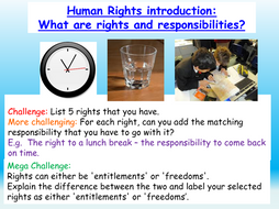 Human Rights + Responsibilities Citizenship