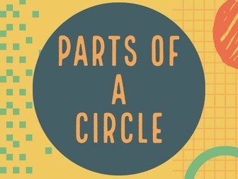 Name The Parts Of A Circle   Geometry Video