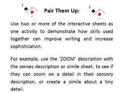 Writing Skills - Interactive Worksheets by Jendi87 - Teaching ...