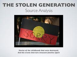Stolen Generation Source Analysis PPT