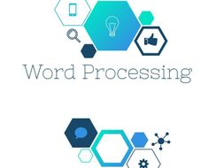 Word Processing Lesson 3