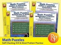 Math Puzzles {Bundle}