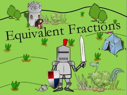 KS2 Equivalent Fractions Resource Pack