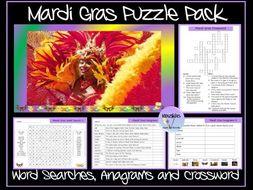 Mardi Gras Puzzle Pack