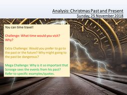 A Christmas Carol Past And Present By Leadpractitioner Teaching
