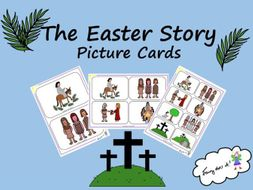 The Easter Story - Retell the Story Picture Cards