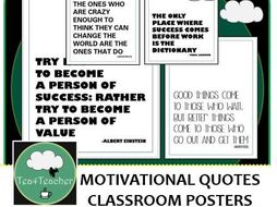 Motivational Quote Posters Black White X50 Great Range Of